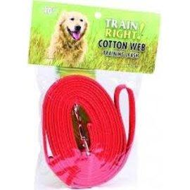 Coastal Pet Coastal Pet Training Leash Red 10ft