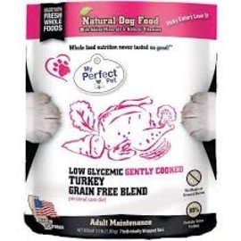 My Perfect Pet MPP Dog Low Glycemic Turkey 3.5#