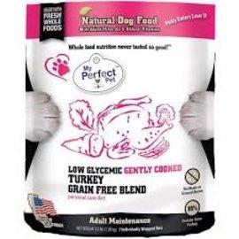 My Perfect Pet My Perfect Pet Dog Low Glycemic Turkey 3.5#