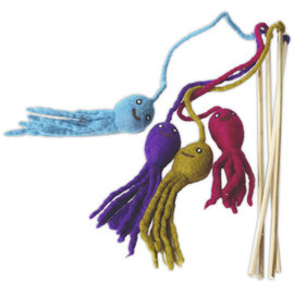 Distinctly Himalayan Distinctly Himalayan Octopus Teaser Cat Toy
