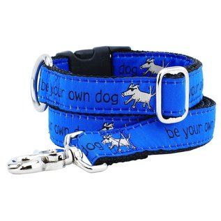 2Hounds 2Hounds Be Your Own Dog Blue Leash
