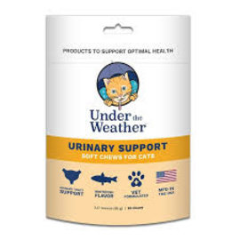 Under the Weather Under the Weather Cat Urinary Support 60ct