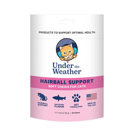 Under the Weather Under the Weather Cat Hairball Support 60ct