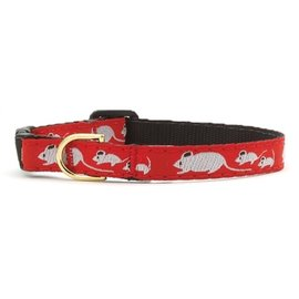 Up Country Up Country Mouse Cat Collar 12in