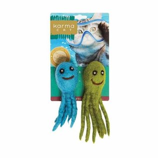 Distinctly Himalayan Aquatic Cat Toy 2 Pack