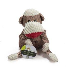 Huggle Hound HuggleHounds Knottie Original Sock Monkey SM