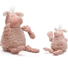 Huggle Hound HuggleHounds Knottie Fleece Penelope the Pig  LG