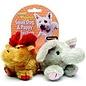 Booda Moose & Elephant Small Dog & Puppy Plush