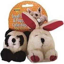 Booda Panda & Rabbit Small Dog and Puppy Plush