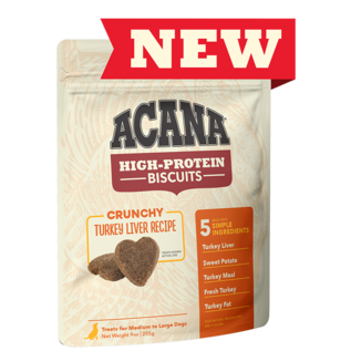 Acana Dog Biscuit Turkey Liver Large 9oz