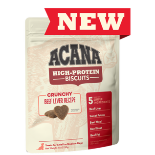 Acana Dog Biscuit Beef Liver Small 9oz