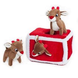 Zippy Paws Zippy Paws Burrow Reindeer Pen