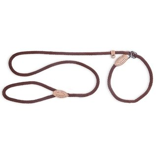 FabDog FabDog Mountain Rope Slip Lead Brown SM
