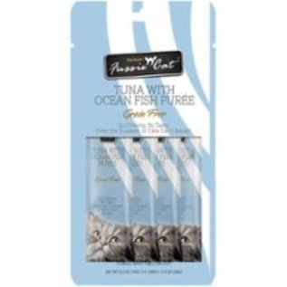 Fussie Cat Puree Ocean Fish 4 Count