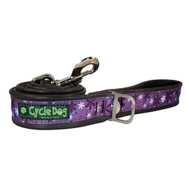 Cycle Dog Cycle Dog Collar Medium Retro Purple Flowers