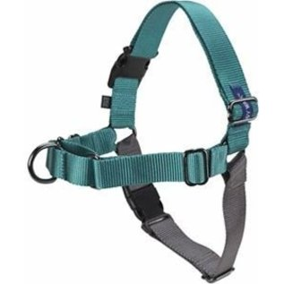 Easy Walk Harness Teal/Gray Small