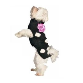 Chilly Dog Chilly Dog Polka Dot Sweater MD