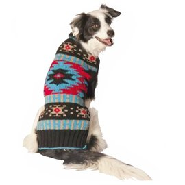 Chilly Dog Chilly Dog Black Southwest Sweater XXS
