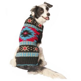 Chilly Dog Chilly Dog Black Southwest Sweater XXS