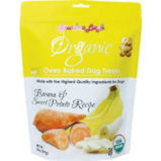 Grandma Lucy's Organic Baked Banana Dog Treats 14oz