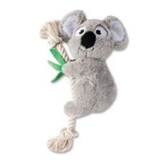 Fringe Koala with Heavy Rope Toy