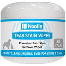 Nootie Nootie Dog Wipe Tear Stain Aloe 60ct