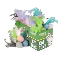 Multipet Multipet Feather Ball Cat Toy
