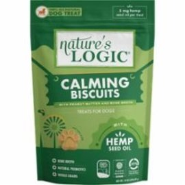 Nature's Logic Nature's Logic Calming Biscuit  PB & Bone Broth 14oz