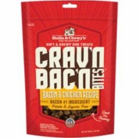 Stella & Chewys Stella & Chewy's Crav'n Bacon Bites Bacon & Chicken Dog Treat 8.25oz