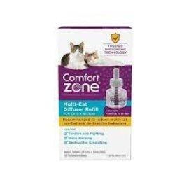 Comfort Zone Multi Cat Difffuser Refill