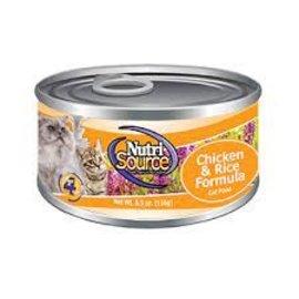 Nutri Source Nutrisource Cat Chicken & Rice 5.5oz