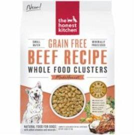 The Honest Kitchen Honest Kitchen Dog GF Beef  Clusters 5#