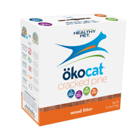 Okocat Okocat Nat Cracked Pine Wood Litter 8.6#
