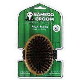 Bamboo Groom Palm Brush