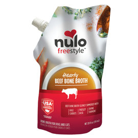Nulo Nulo Freestyle Bone Broth Beef 20 oz