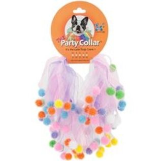 Charming Pet Party Collar Lg