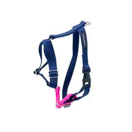 Wagwear Wagwear Contrast Harness Navy Blue Sm