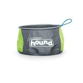 Outward Hound Outward Hound Port A Bowl Green LG