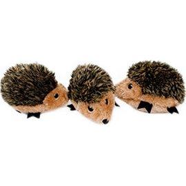 Zippy Paws Zippy Paws Hedgehog Dog Toy Miniz 3-pack