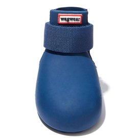 Wagwear WagWellies Dog Boots MD Navy