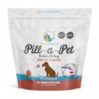 Green Coast Pet Pill-A-Pet Bacon Flavor 60 Wraps