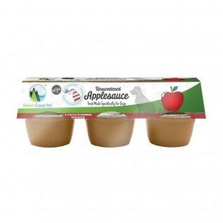 Green Coast Pet Unsweetened Apple Sauce 6 Pack