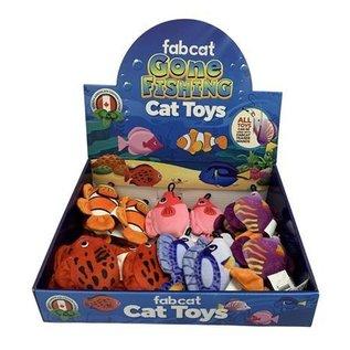 Fabcat Gone Fishing Catnip Toy
