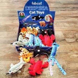 FabCat Deep Sea Catnip Toy