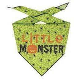 Hunter K9 Paisley Paw Designs Little Monster Bandana