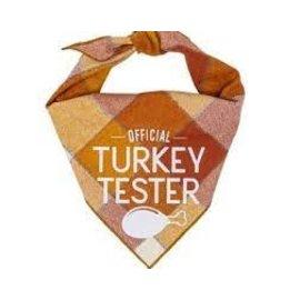 Hunter K9 Paisley Paw Designs Turkey Tester Bandana Lg