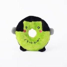 Zippy Paws Halloween Donutz Frankenstein Toy