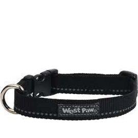 West Paw West Paw Design Strolls Collar Black Small