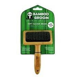 Bamboo Groom Bamboo Groom Soft Slicker Brush SM