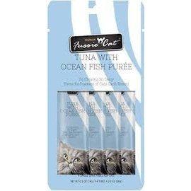 Fussie Cat Fussie Cat Puree Tuna with Ocean Fish 4 Count